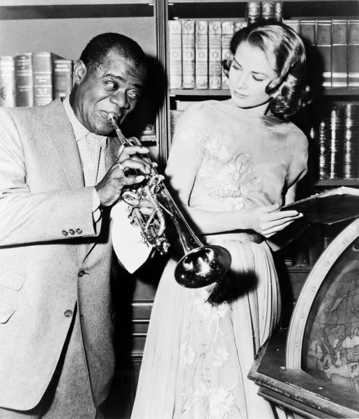 File:Louis Armstrong Grace Kelly High Society 1956.jpg